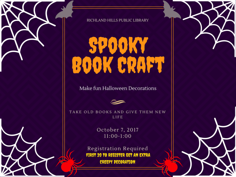 Spooky Book Craft