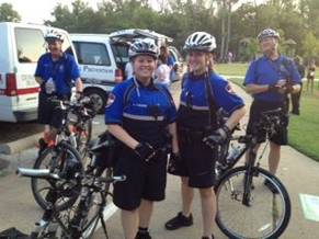 Bicycle officers photo