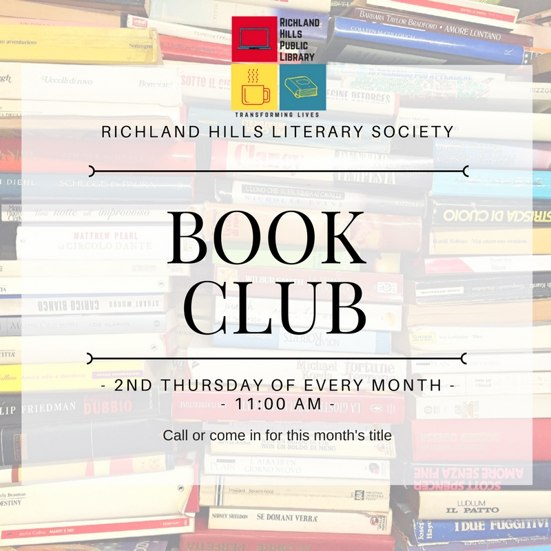 richland hills literary society for social media