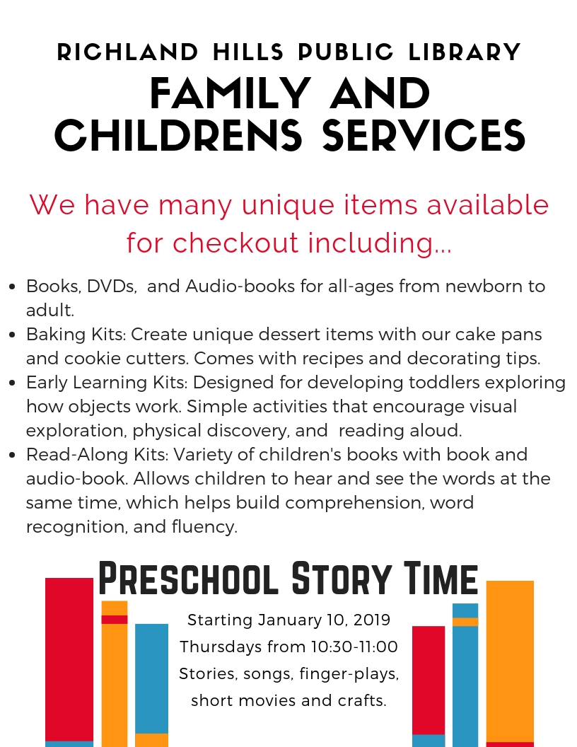 Richland Hills Public Library_ Early Childhood