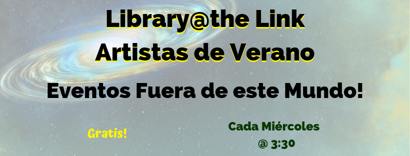 Library@the Link buttons -spanish
