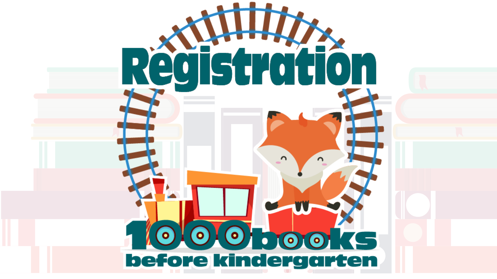 1000 books clips registration